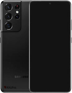 Samsung Galaxy S21 ULTRA 5G - 128GB - SCHWARZ - 🔥 NEU & OVP 🔥 OHNE VERTRAG
