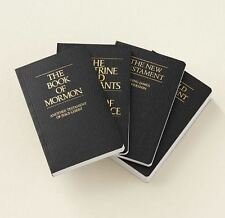 NEW 2013 Black Pocket LDS Scriptures Book of Mormon Holy Bible Doctrine Covenant