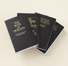 NEW 2013 Black Pocket LDS Scriptures Book Mormon Holy Bible Doctrine Covenants