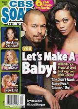CBS Soaps In Depth Magazine - March 19, 2018 - Bryton James & Mishael Morgan