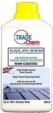 SOLCLEAN CONCENTRATED SOLAR PANEL CLEANER 500ML