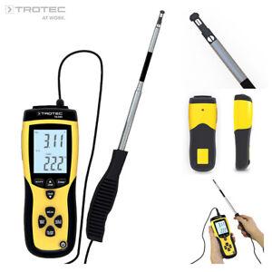 TROTEC Thermoanemometer TA300 | Anemometer Windmessgerät Windmesser Volumenstrom