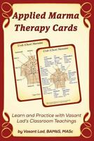 Applied Marma Therapy Cards, Paperback by Lad, Vasant, Like New Used, Free sh...