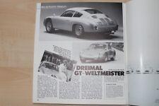 Christophorus Nr. 190/1984 Rarität! Porsche 356 B Carrera GTL Abarth mit 135PS i