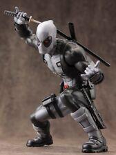 Nuevo Kotobukiya Marvel Comics ARTFX + Deadpool X-force gris variante 1/10 Estatua