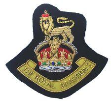 1st Royal Dragoons, Blazer Badge Wire Bullion, LI-EMB-0022