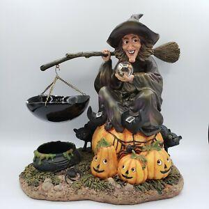 RARE Yankee Candle Witch Hanging Tart Warmer Burner Candle Holder Halloween**