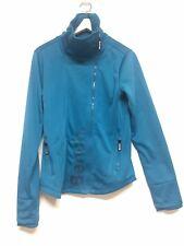 Bench Blue Cerulean Softshell Asymmetrical Fleece Liner Jacket Size L (10 US)