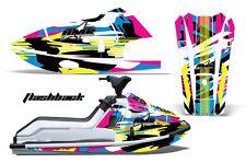 AMR Racing Jet Ski Graphics Wrap Kawasaki X2 Decal Kit 1986-1995 FLASHBACK