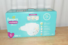 Pampers Cruisers Active Fit Taped Diapers, Size 5, 128 ct