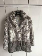 Next children's fur coat 13-14 years old