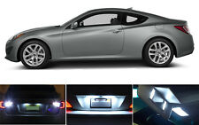 LED Package - License Plate + Vanity + Reverse for Hyundai Genesis (6 Pcs)