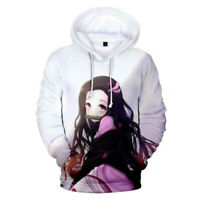 Demon Slayer: Kimetsu no Yaiba Kamado Nezuko Causal Hoodie Sweater Sweatshirt