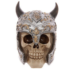 Totenkopf Schädel Totenköpfe Gothic Skull Dekoration Larp 15cm Mystik Deko NEU