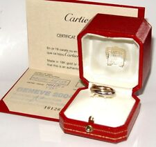 CARTIER Trinity wedding band 1997, Size-52(US-size-5), 10.6g Box/Papers