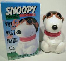 Benjamin & Medwin Peanuts Snoopy World War I Flying Ace Ceramic Cookie Jar
