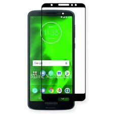 For Motorola Moto G6 Play 3D Premium 0,3 Mm H9 Hard Glass Black Sheet Protection