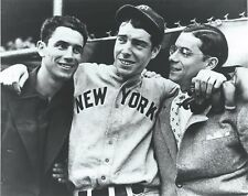 "Joe, Dom & Vince DiMaggio - 8"" x 10"" Photo - 1941 - New York Yankees"