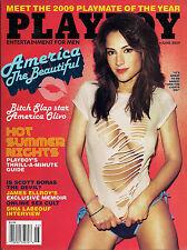 Playboy June 2009-K PMOY IDA LJUNGQVIST– CANDICE CASSIDY – AMERICA OLIVO NUDE!!