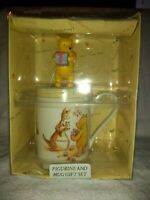 Royal Doulton Gift Set Classic Pooh Figurine  Christening /Birthday/ Mug In Box