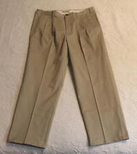 Orvis Men's Pleated Front Ultimate Khaki Pants MC7 Khaki 8K57 Size 38x30