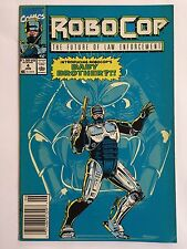 ROBOCOP #4 (Jun 1990, Marvel Comics) INTRODUCING ROBOCOP'S BABY BROTHER?!!