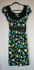 Speechless Cap Sleeve Back Tie Dress Size M