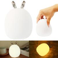 Cerf lapin LED lampe table nuit lumière enfant chambre lampe cadeau noël décor G