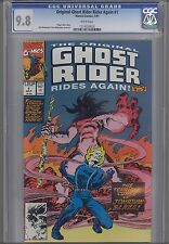 Original Ghost Rider Rides Again #1  CGC 9.8 1991 Marvel: Price Drop!