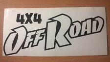 4x4 dirt off road vinyl car sticker truck jeep quad land range rover graphic fun