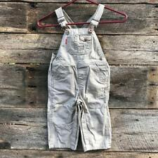 Levi's 24m Overalls Khaki Red tab 24 Months