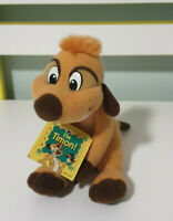 TIMON BEANIE TOY THE LION KING CHARACTER 15CM CHARACTER TOY WITH BEANS 1998