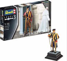 REVELL 02801 1:16 SCALE SWISS GUARD MODEL KIT