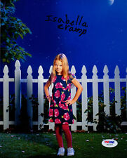 Isabella Cramp SIGNED 8x10 Photo Abby Weaver The Neighbors PSA/DNA Autographed