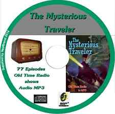 The Mysterious Traveller 77 episodes Old Time Radio Shows  Audio MP3 CD