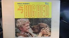 Disneyland Records Walt Disney presents The Story of BIG RED LP 1962
