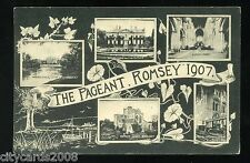ROMSEY  Hampshire   Multi-views linked to 1907 Pageant  Broadlands & Abbey    RP