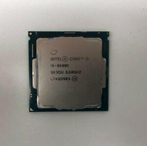 Intel Core i5-8600K Coffee Lake 6-Core 3.6 GHz (4.3 GHz Turbo) LGA 1151