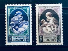 France - En faveur de la natalité ** MNH 1939 - n°440 et 441