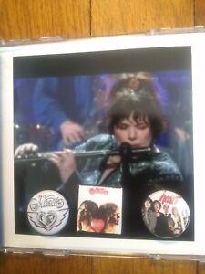 HEART Ann Wilson 2 Rare PINS + 2 CD Live '02 TOUR  Clearwater FL Summer Love EX+