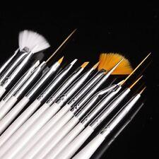 15stk. Nail Art Pinsel-set GU Y1d5