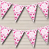 Party Banner Bunting Pink Wine Bottles Personalised Christmas Decoration