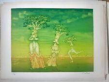 "Lucien COUTAUD (1904-1977) - ""UNE DAMARBRE"", 1965, Lithographie, signiert"