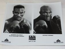 Evander Holyfield vs.George Foreman,The Battle of Century Publicity Trump Plaza
