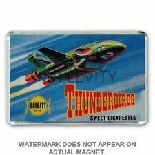 RETRO THUNDERBIRDS -SWEET CIGARETTES SHOP BOX ART JUMBO FRIDGE / LOCKER MAGNET