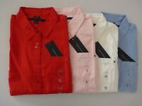 New Tommy Hilfiger Button Down Shirt For Women Long Sleeve XS S M XL