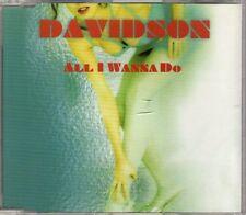 Davidson - All I Wanna Do - CDM - 1999 - House Eurohouse 5TR Apricot Records
