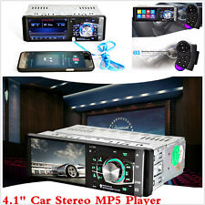 "4.1"" Car In-Dash Bluetooth Stereo Audio MP3 MP5 Player FM Radio WMA USB/AUX 12V"