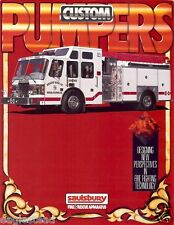 Fire Equipment Brochure - Saulsbury - Custom Pumpers (DB136)