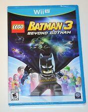 LEGO BATMAN 3 BEYOND GOTHAM NINTENDO WII U, BRAND NEW AND SEALED